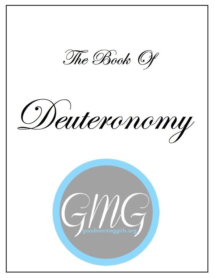 Deuteronomy short eJournal cover