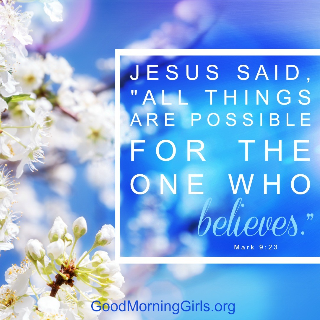 Good Morning Girls Resources {Mark 6-10} - Women Living Well