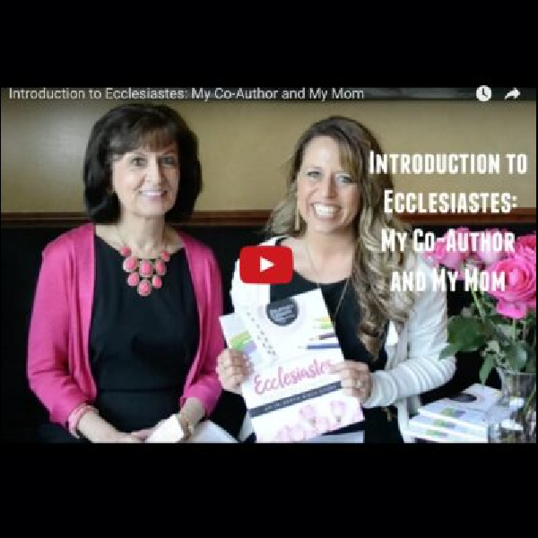 Ecclesiastes Video Bloopers with My Mom and Daughter