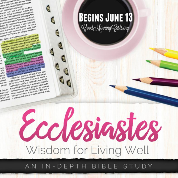 Introducing Our Summer Bible Study and Something New!