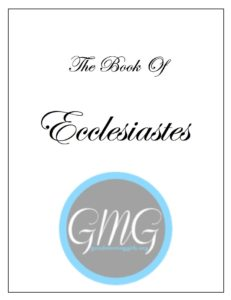 Ecclesiastes Short Journal cover