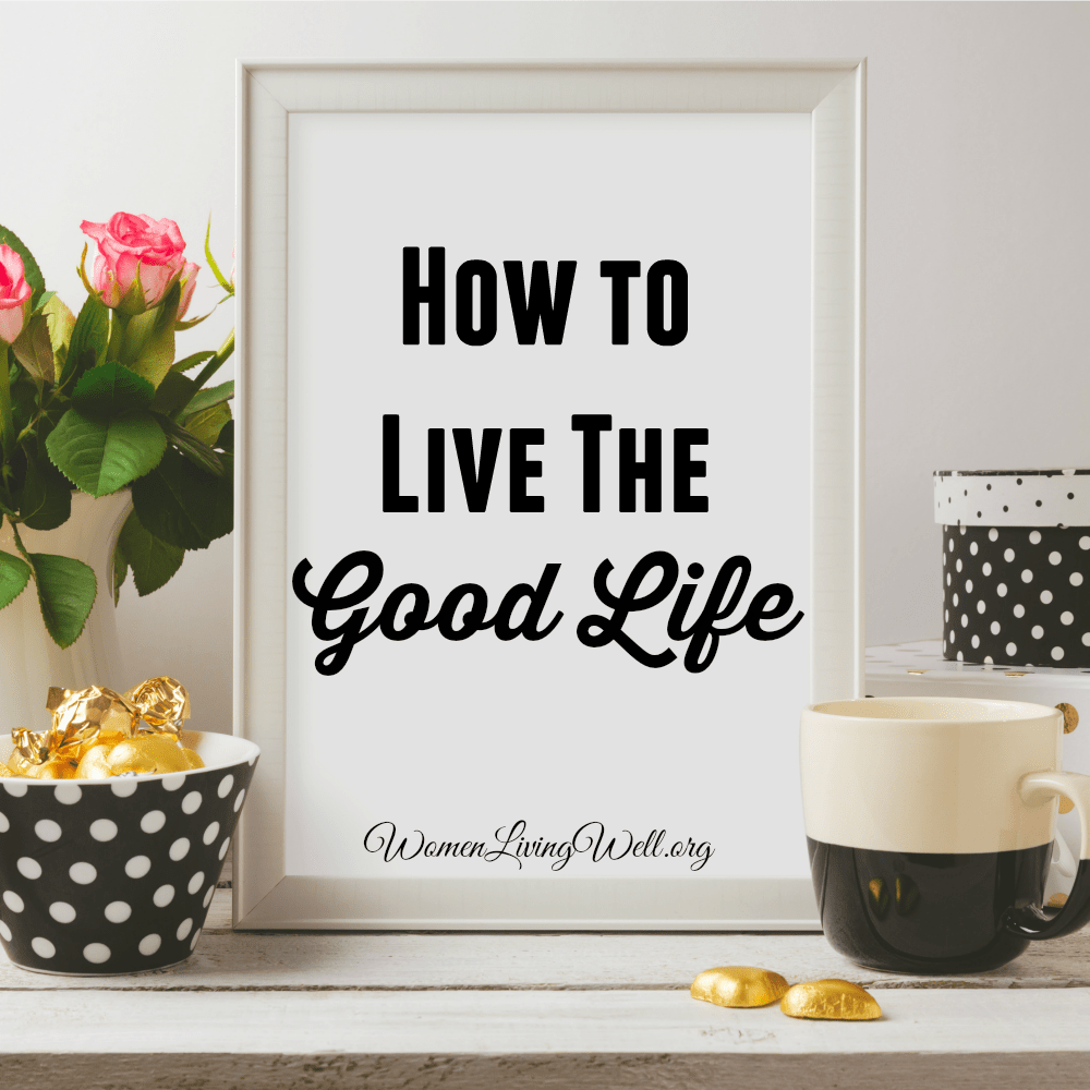 If you feel like you've been juggling too much in life or are on an endless treadmill, here's how you can learn to live the good life. #Biblestudy #Ecclesiastes #WomensBibleStudy #GoodMorningGirls
