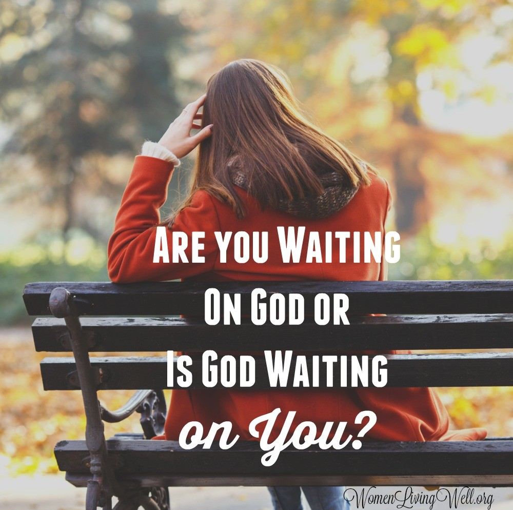 Have you been waiting on God for a while? Have you stopped to consider that maybe God is waiting on you to take that first step of faith? #Biblestudy #Joshua #WomensBibleStudy #GoodMorningGirls