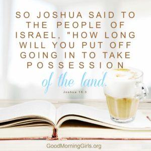 Joshua 18