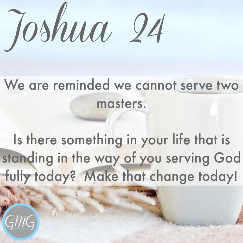 Good Morning Girls Resources Joshua