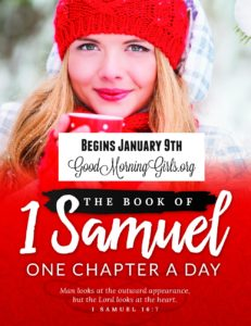 Good Morning Girls Resources for the Book of 1 Samuel