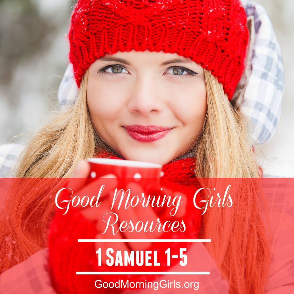 Join Good Morning Girls as we read through the Bible cover to cover one chapter a day. Here are the resources you need to study the Book of 1 Samuel. #Biblestudy #1Samuel #WomensBibleStudy #GoodMorningGirls