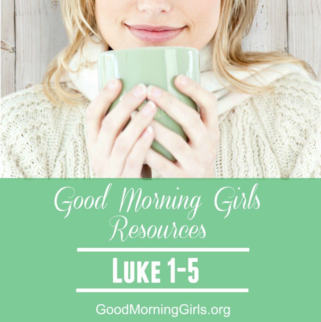 Join Good Morning Girls as we read through the Bible cover to cover one chapter a day. Here are the resources you need to study the Book of Luke. #Biblestudy #Luke #WomensBibleStudy #GoodMorningGirls