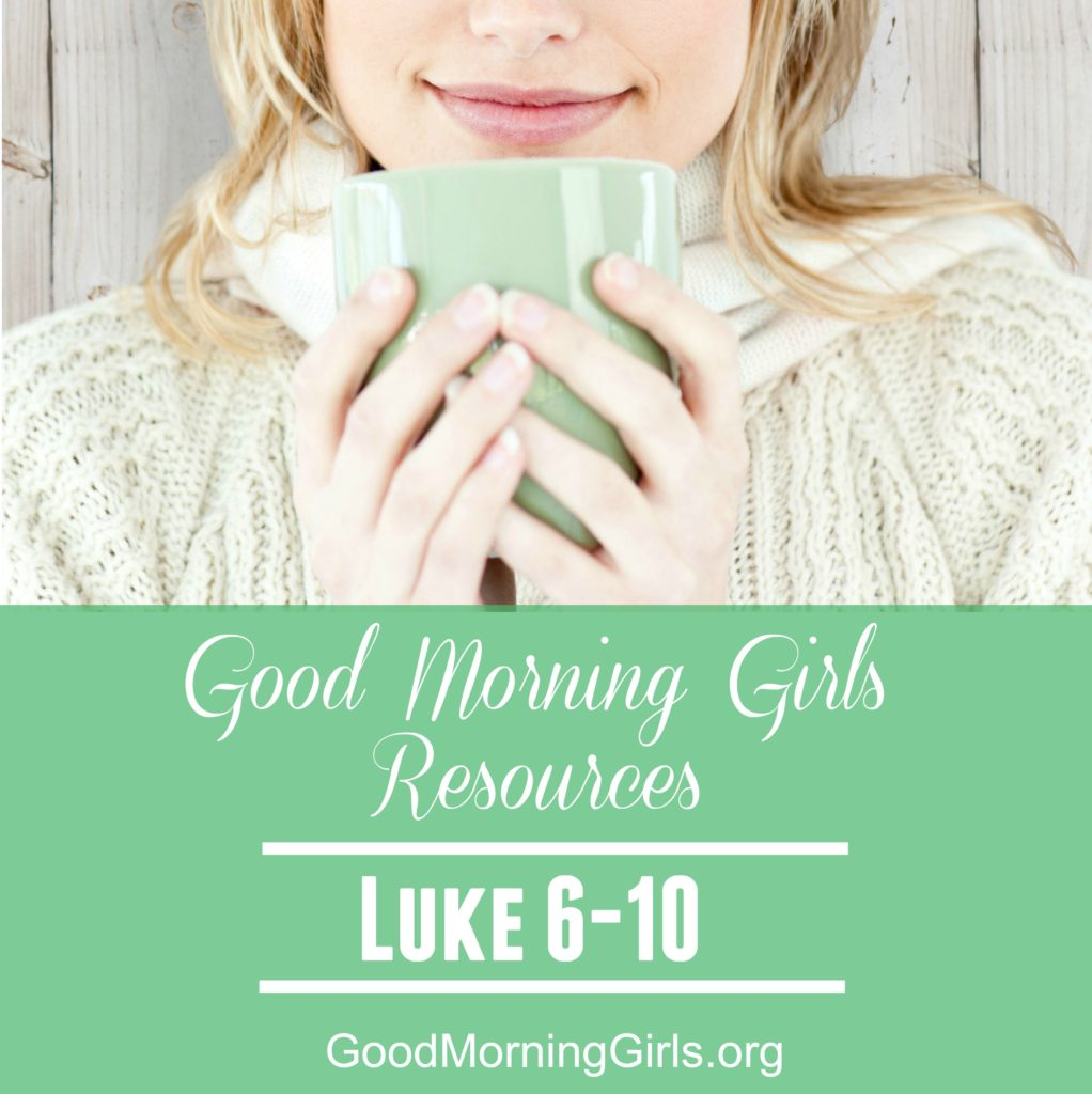 Good Morning Girls as we read through the Bible cover to cover one chapter a day. Here are the resources you need to study the Book of Luke. #Biblestudy #Luke #WomensBibleStudy #GoodMorningGirls