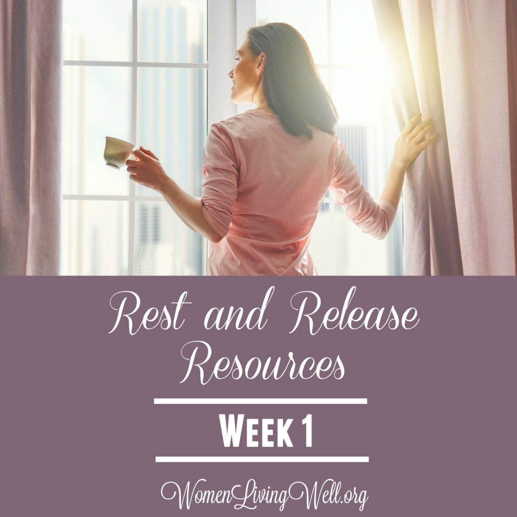 Join Good Morning Girls as we read through the Bible cover to cover one chapter a day. Here are the resources you need to study Rest and Release. #Biblestudy #RestandRelease #WomensBibleStudy #GoodMorningGirls