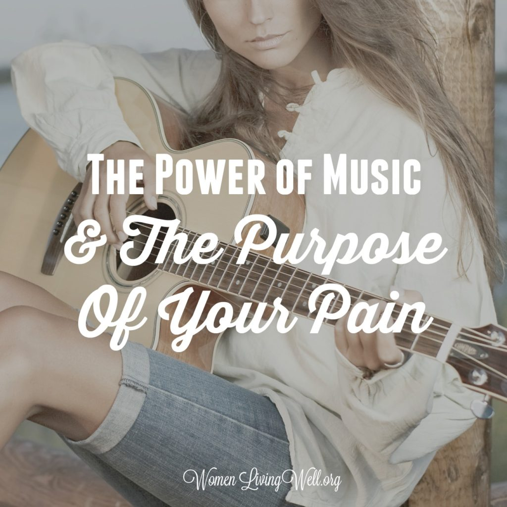 Satan wants to trap us in our brokenness, but there is a purpose for the pain and song of freedom we can sing to the Lord. Here's the power of music. #Biblestudy #RestandRelease #WomensBibleStudy #GoodMorningGirls