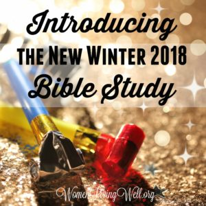 Introducing the New Winter 2018 Bible Study
