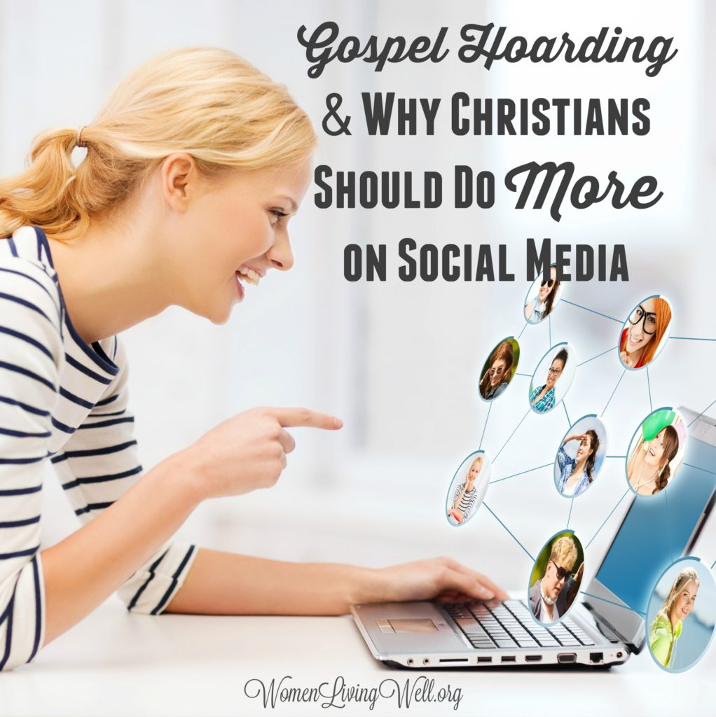 We hear about the negative effects of social media, but there are some positive effects, too Here is why I think Christians should do more on social media. #Biblestudy #Romans #WomensBibleStudy #GoodMorningGirls