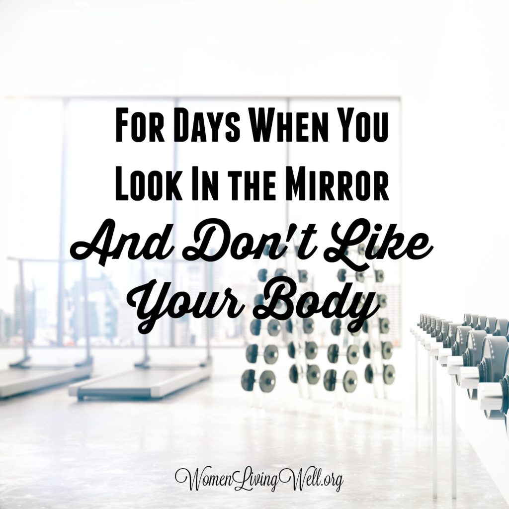 As women, we've all been there. This is an important reminder for those days when you look in the mirror and don't like your body. #WomenLivingWell #Habittrackers #bulletjournal #selfcare