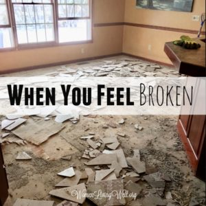 When You Feel Broken