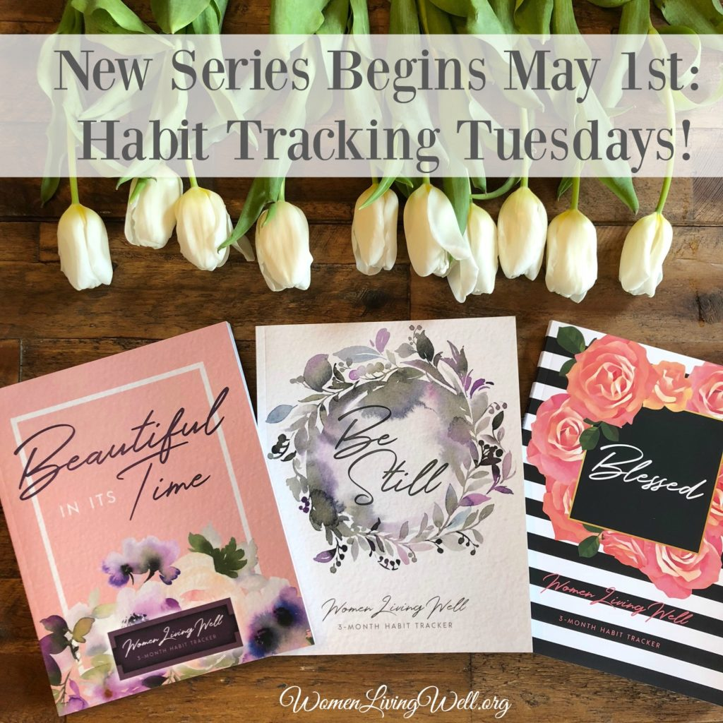 Take this habit tracking challenge with these gorgeous 3-month habit trackers. Start making new habits today and in three months you'll be so glad you did.  #WomenLivingWell #habittrackers #bulletjournals