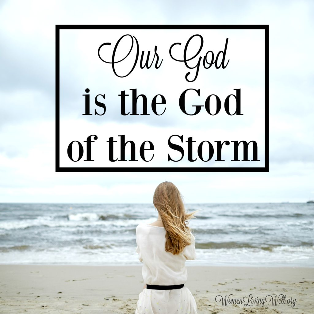 When life is difficult and we face waves of adversity, here is what our response of faith should look like, because our God is the God of the storm. #Biblestudy #Psalms #WomensBibleStudy #GoodMorningGirls