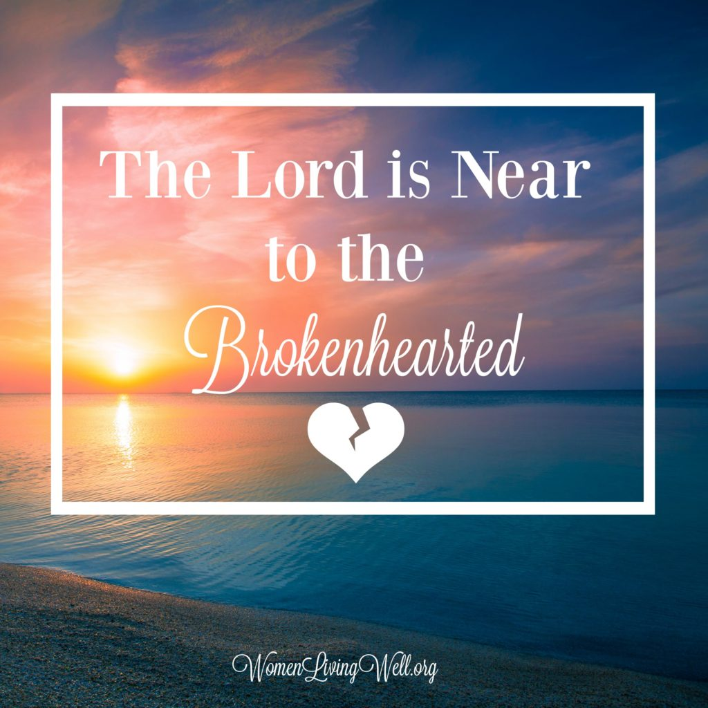 When you're brokenhearted and tried all of the things we're told to get over it, one thing we need to remember is the Lord is near to the brokenhearted. #Biblestudy #Psalms #WomensBibleStudy #GoodMorningGirls