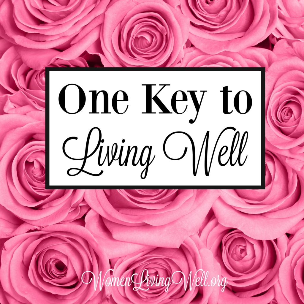 We know that one key to living well is loving God and reading the Word, but in the book of Ruth we see another key to living well. #Biblestudy #Ruth #WomensBibleStudy #GoodMorningGirls