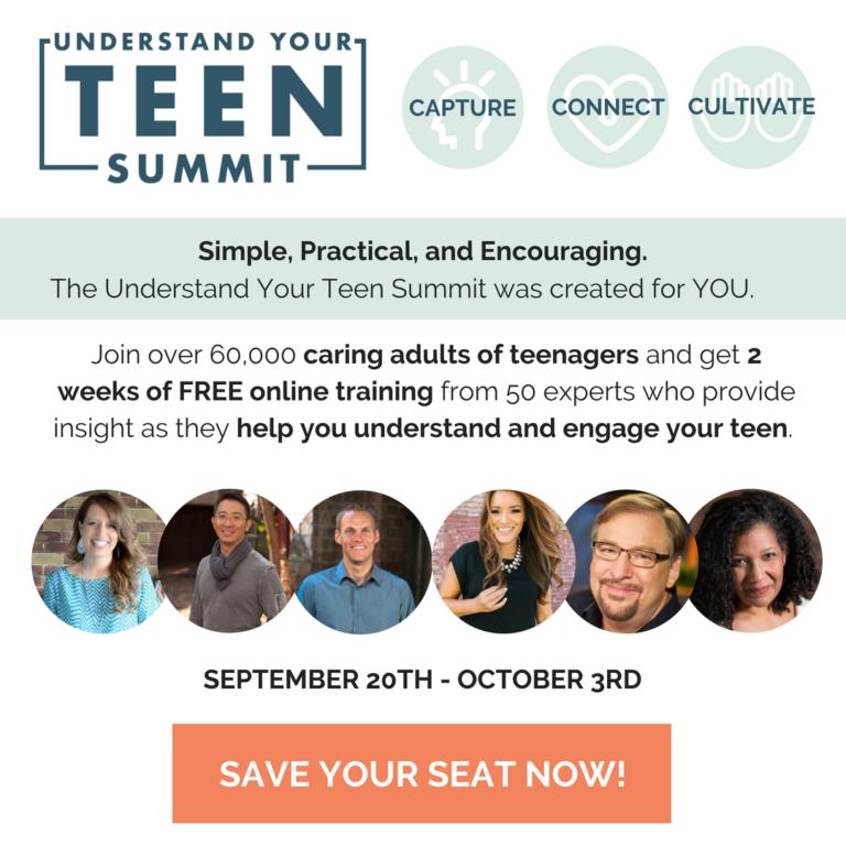 Reminder: The Understand Your Teen Summit Starts Today!