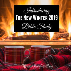 Introducing the New Winter 2019 Bible Study