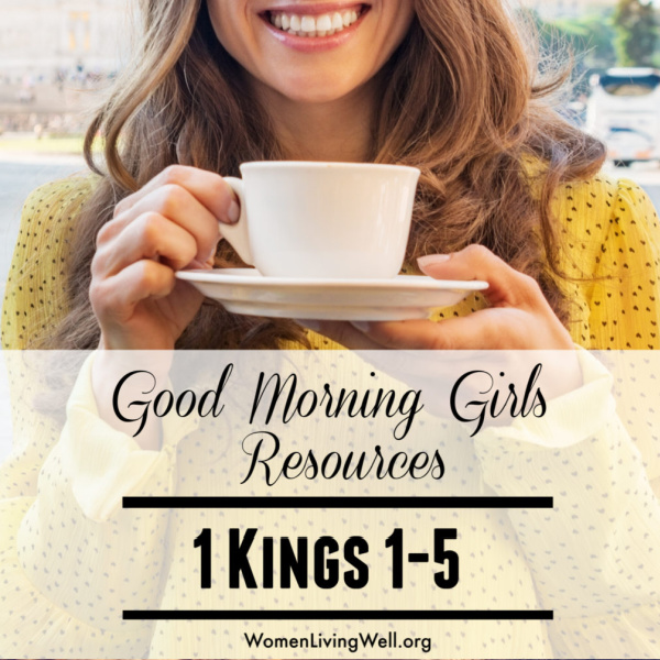 It's Time to Begin! {Intro and Resources for 1 Kings 1-5}