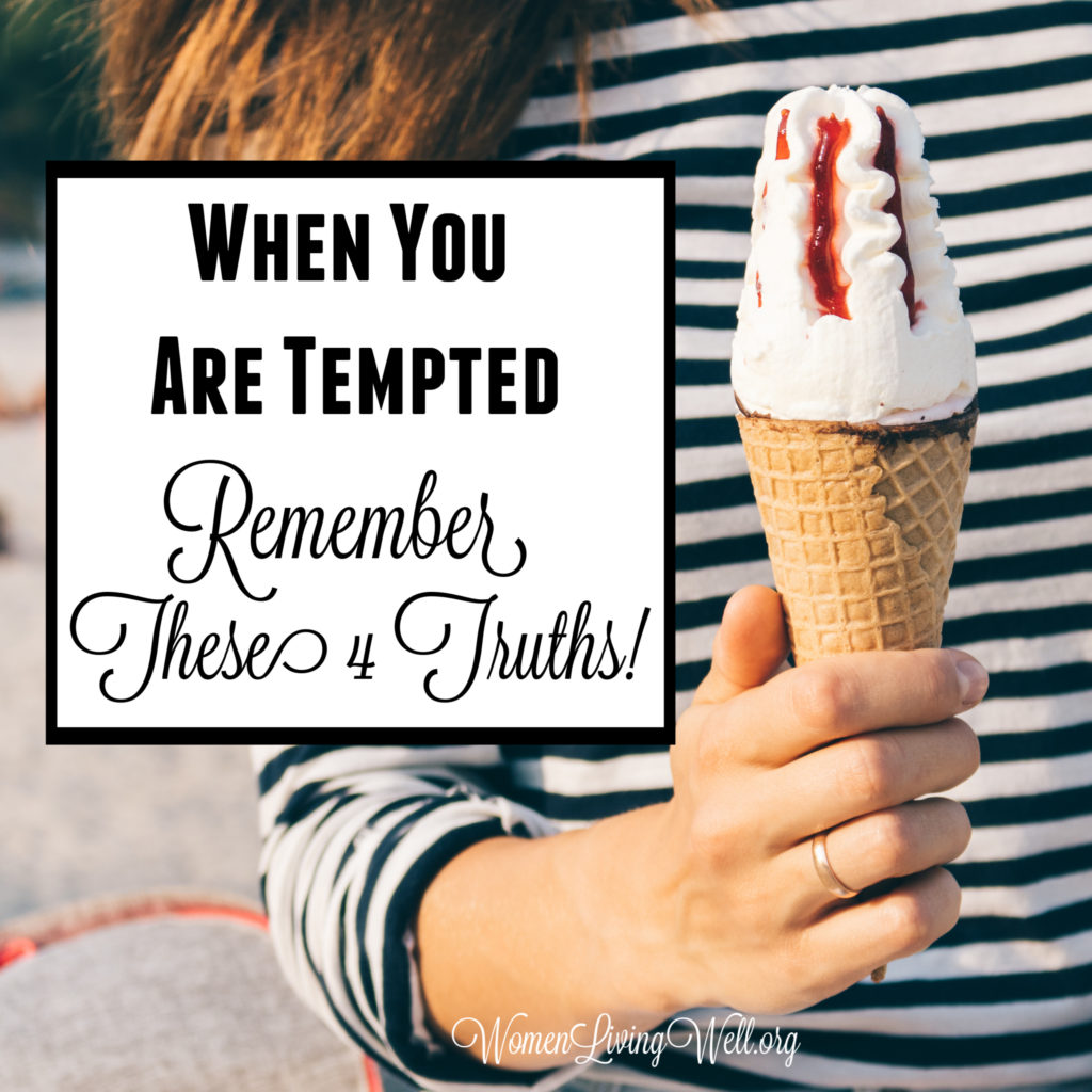 In times of temptation - your flesh and your heart may fail but God! He is our strength. Here are 4 truths to remember when you are tempted.  #Biblestudy #Psalms #WomensBibleStudy #GoodMorningGirls