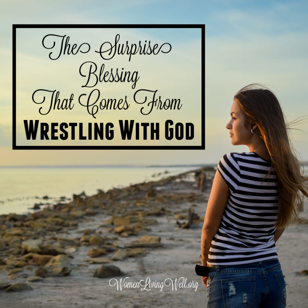 Asaph did three things as he wrestled with God, and teaches us the surprise blessing when we turn off the noise and get face to face with God in prayer. #Biblestudy #Psalms #WomensBibleStudy #GoodMorningGirls