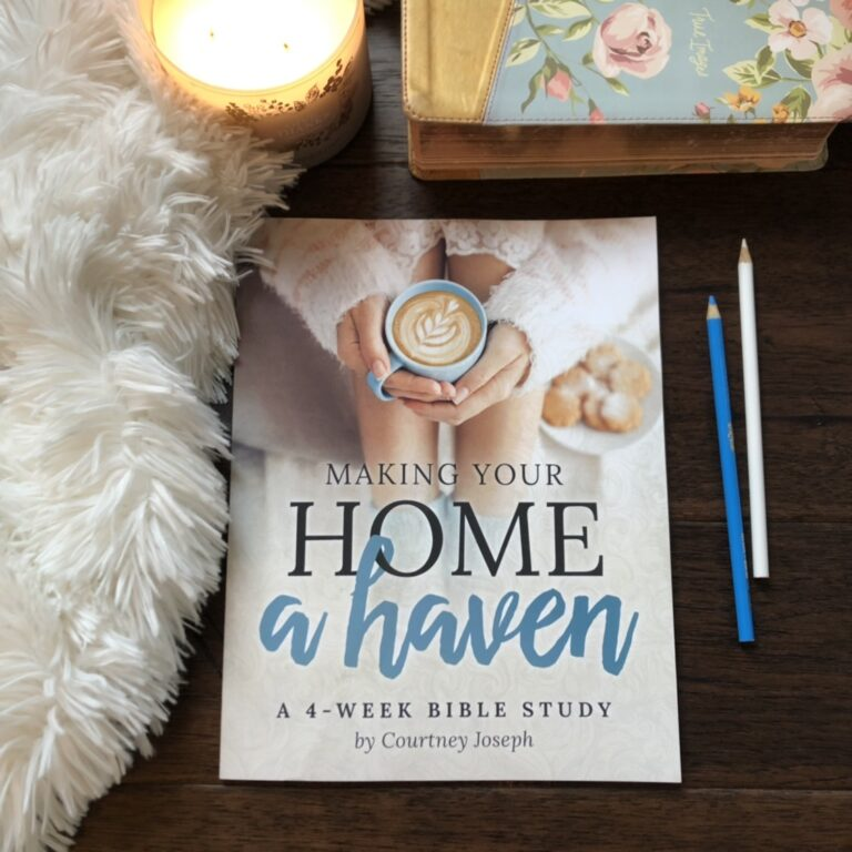 Introducing the 10th Annual Making Your Home A Haven Bible Study!