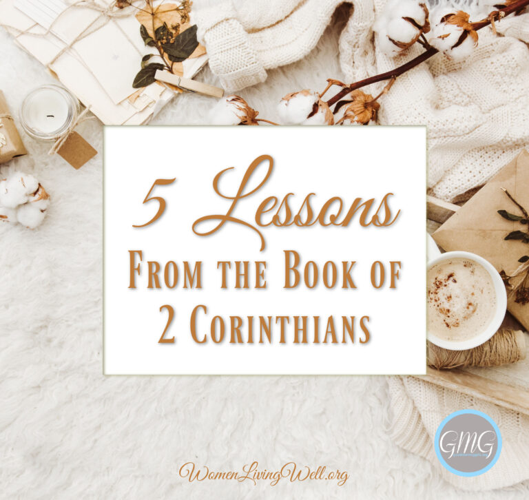 5 Lessons from the Book of 2 Corinthians