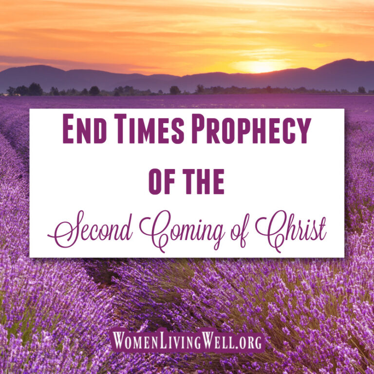 End Times Prophecy of the Second Coming of Christ