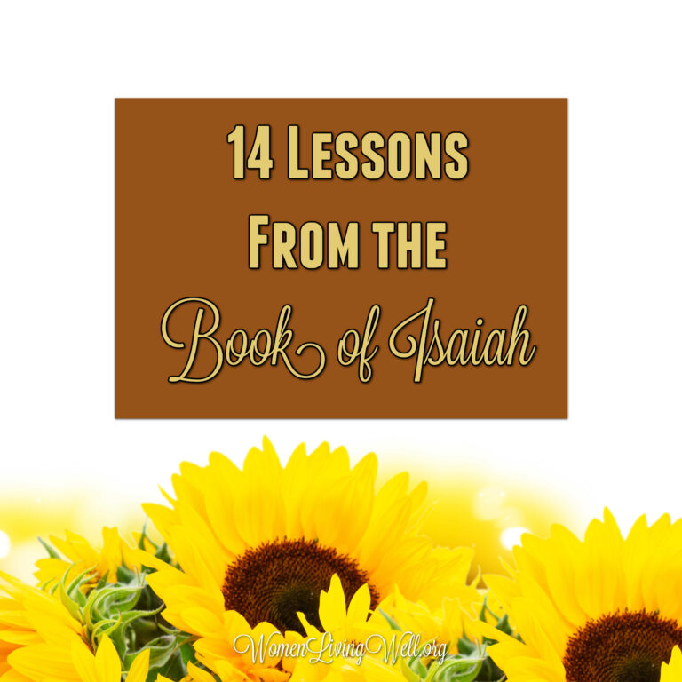 14 Lessons from The Book of Isaiah