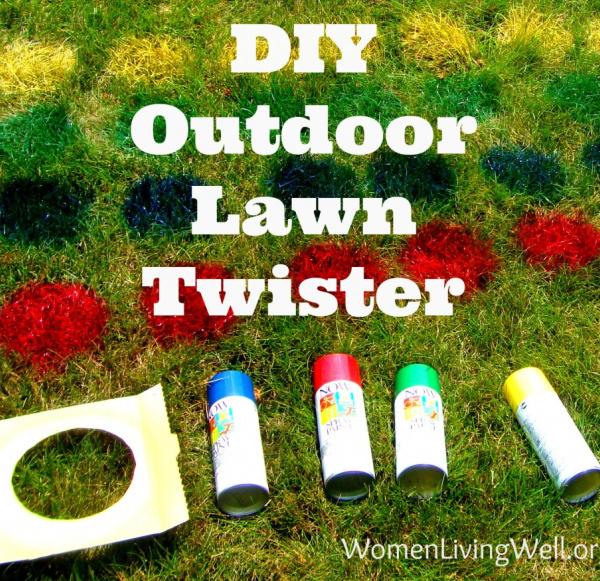 DIY: Outdoor Lawn Twister