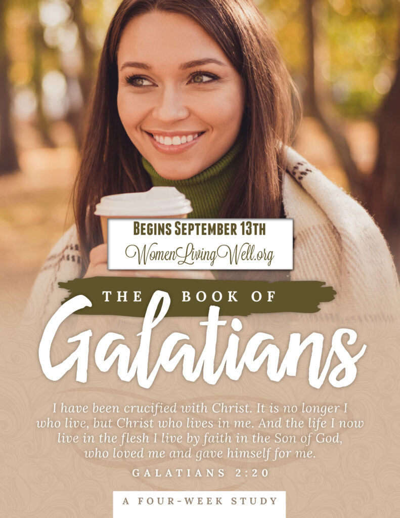 Join Good Morning Girls as we read through the Bible cover to cover one chapter a day. Here are the resources you need to study the Book of Galatians. #Biblestudy #Galatians #WomensBibleStudy #GoodMorningGirls