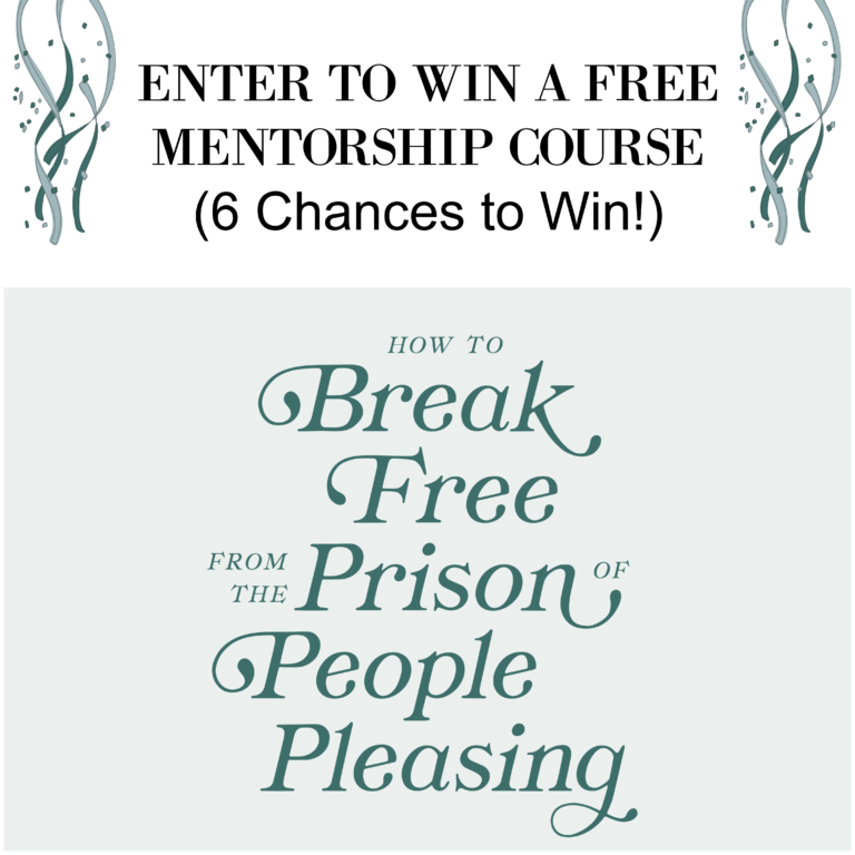 Enter to Win a Free Mentorship Course (6 Chances to Win!)